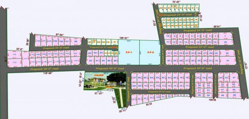 Images for Layout Plan of Right Choice S P Thirumal Nagar