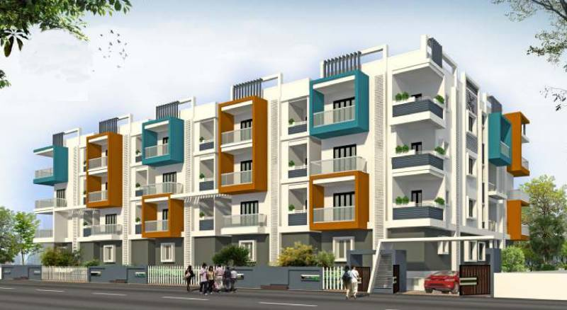 Images for Elevation of Garudathri Vibhuthi Residency