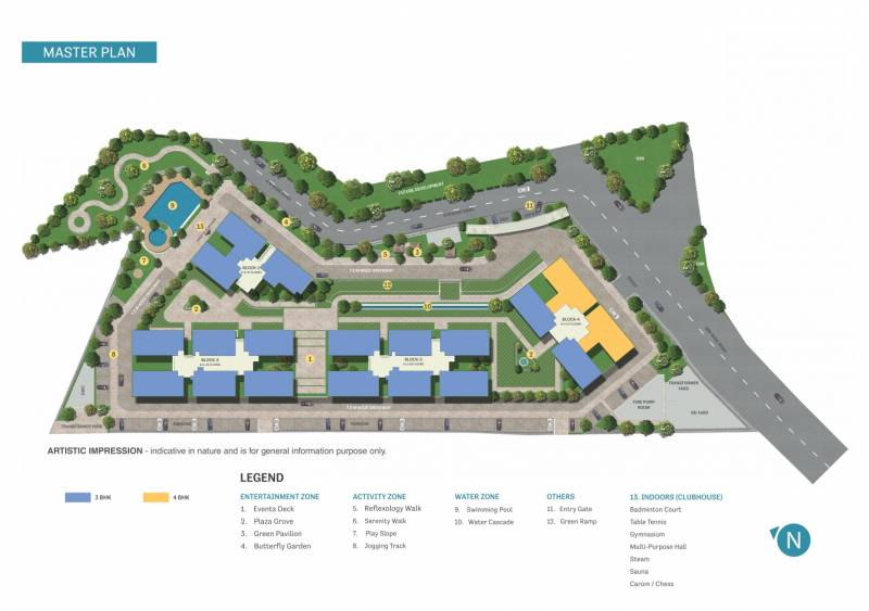 Images for Master Plan of Sobha Palacia