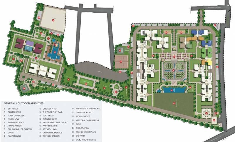 Images for Master Plan of Sobha Royal Pavilion Phase 3 Wing 16