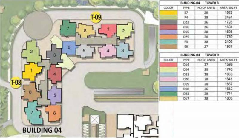 Images for Layout Plan of Prestige Song Of The South Phase 2