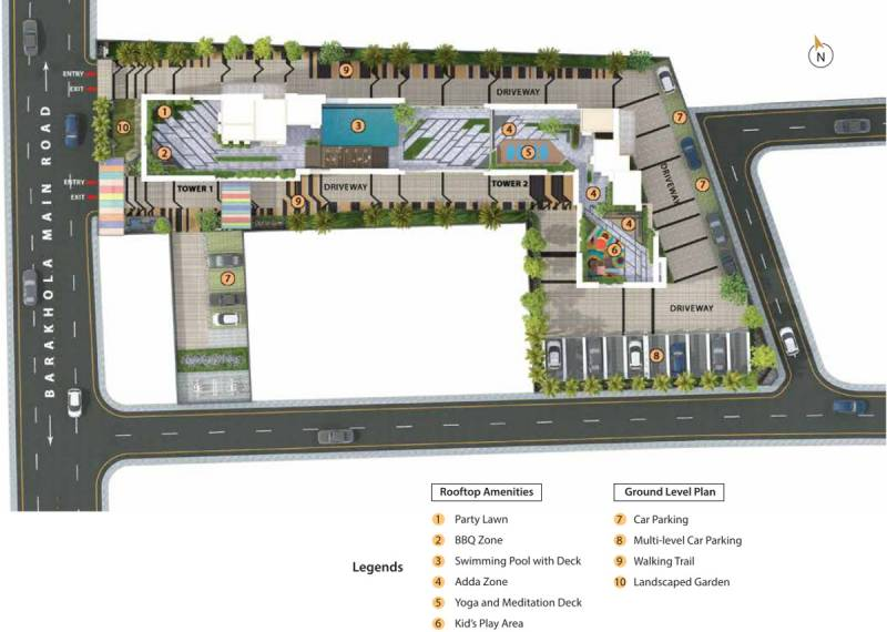 Images for Site Plan of Merlin Iris