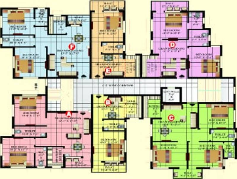 Images for Cluster Plan of Vishwakarma Siddhi Residency