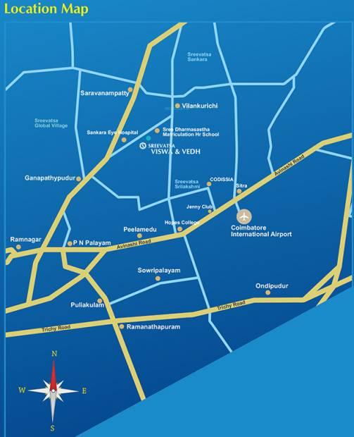 Images for Location Plan of Sreevatsa Viswa
