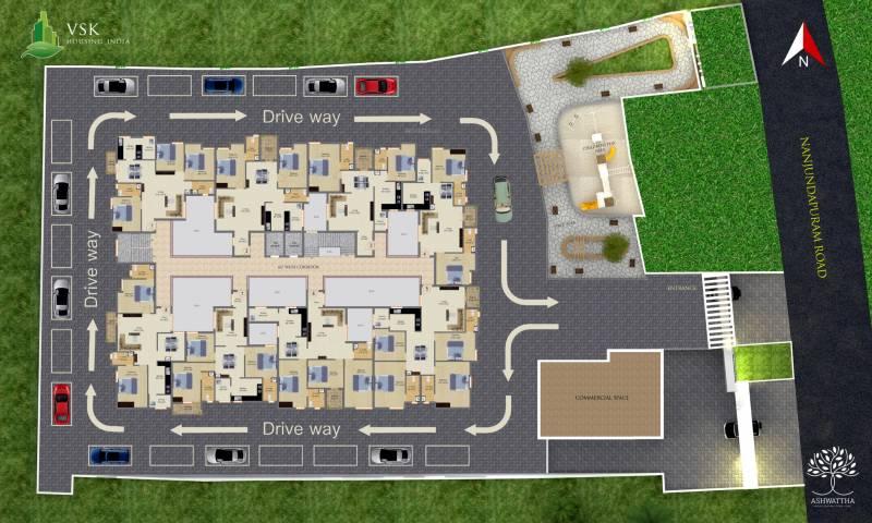 Images for Layout Plan of VSK Ashwattha