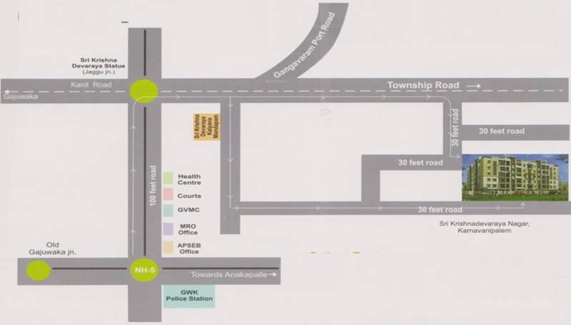 Images for Location Plan of KRR Subrahmanya Estates