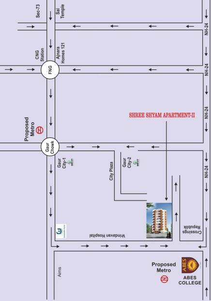 Images for Location Plan of Sejwal Shree Shyam Apartments 2