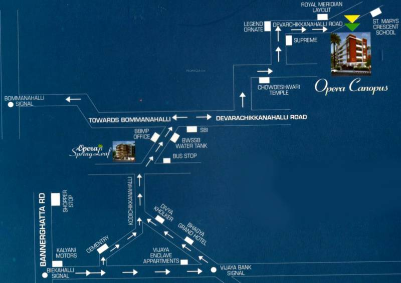 Images for Location Plan of Opera Canopus