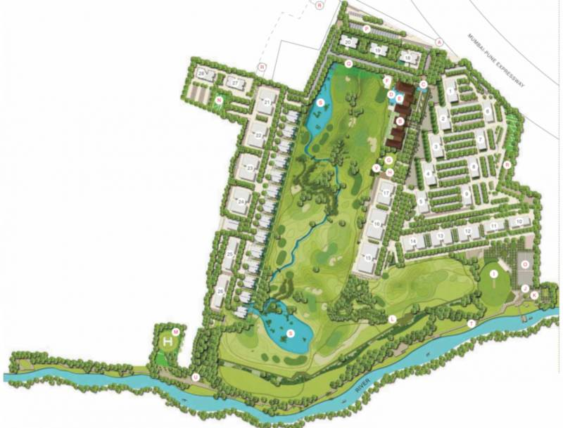 Images for Master Plan of Lodha Belmondo Tower 31