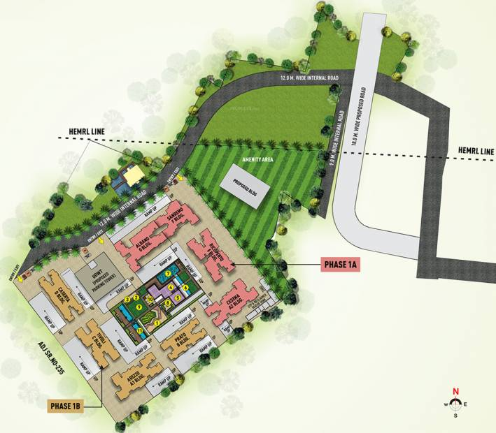 Images for Master Plan of Puraniks Abitante Phase 2B