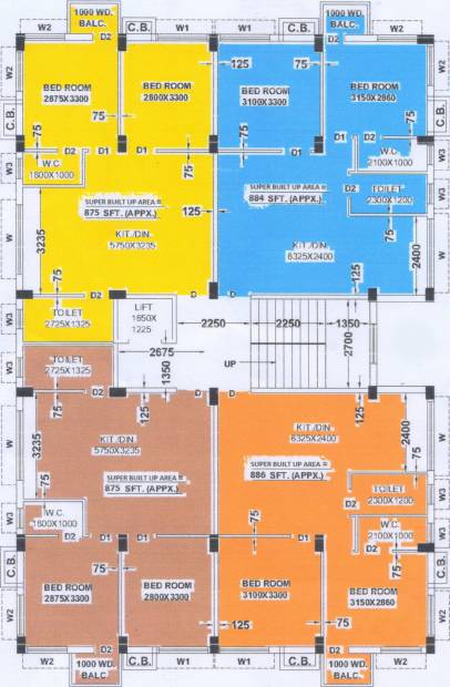 Images for Cluster Plan of FM Aarav Villa