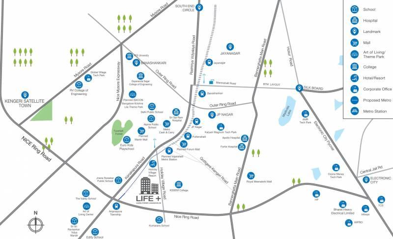 Images for Location Plan of Godrej Zest At Godrej Eternity