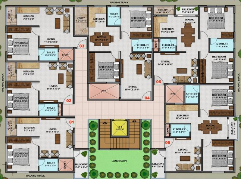 Images for Cluster Plan of Aspire Chandana