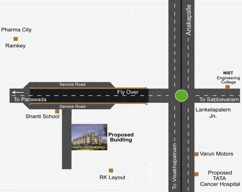 Images for Location Plan of Sri Vaibhava Grand