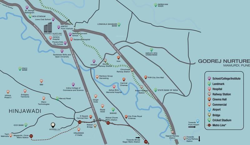 Images for Location Plan of Godrej Nurture