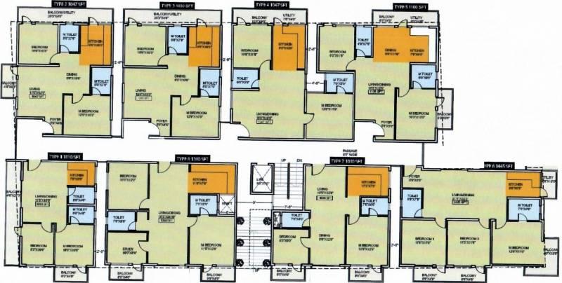 vanya-palace Cluster Plan