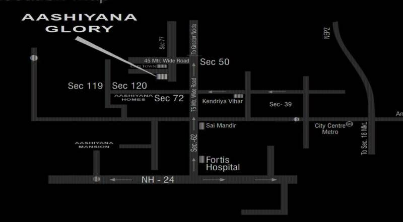 Images for Location Plan of Investors Aashiyana Glory