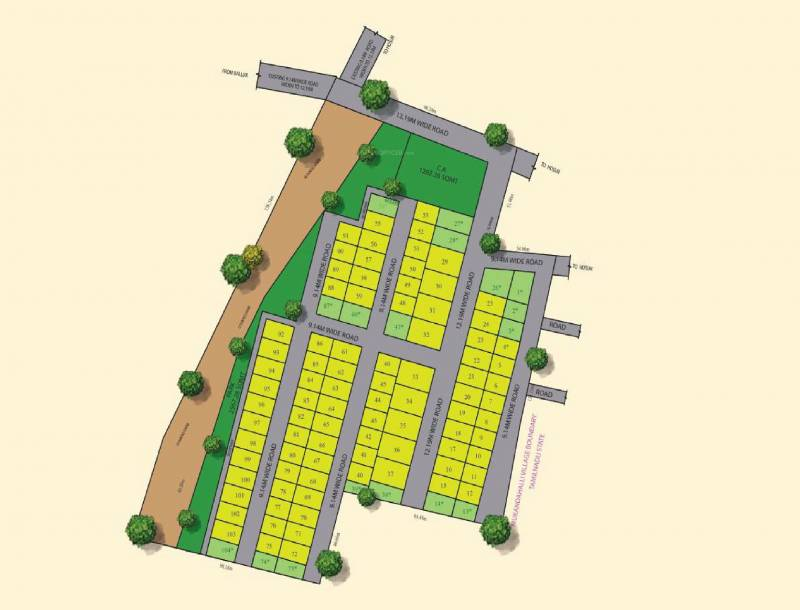 Images for Master Plan of Jay Pee Jay Pee Serenity