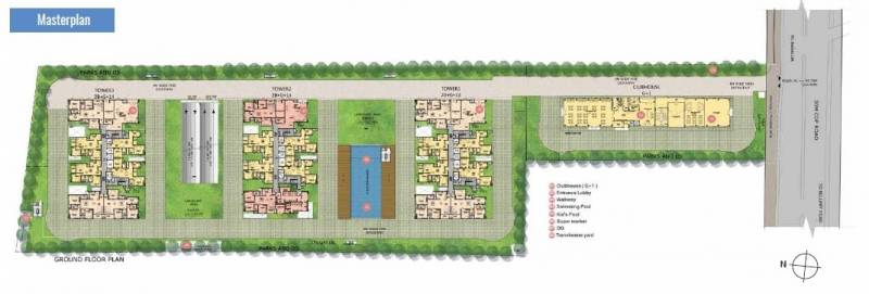 Images for Master Plan of Salarpuria Sattva Exotic