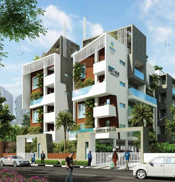 shree-vikas Images for Elevation of Creative And Vikas Builders Creative Shree Vikas