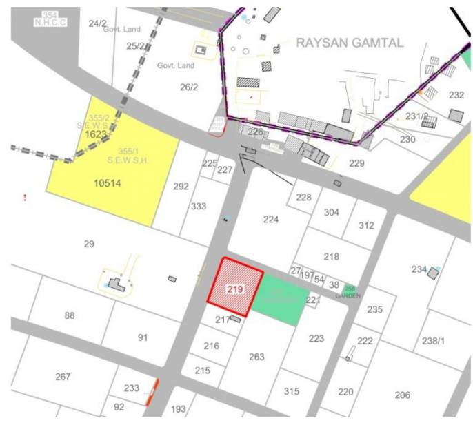 Images for Location Plan of Riddhi Siddhi Shagun 15