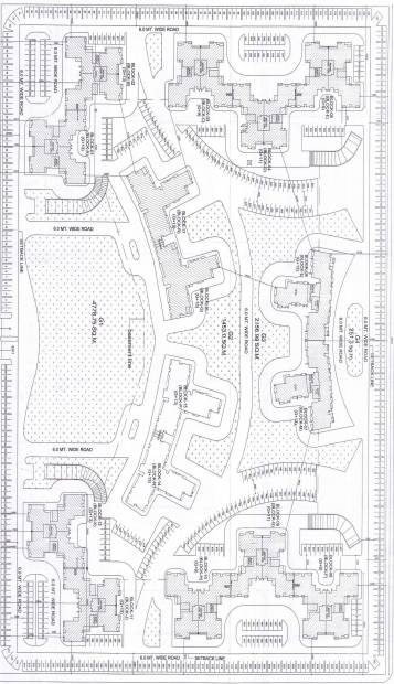 Images for Layout Plan of R R Celebrity Gardens Block M