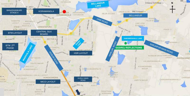 Images for Location Plan of Godrej Lake Gardens