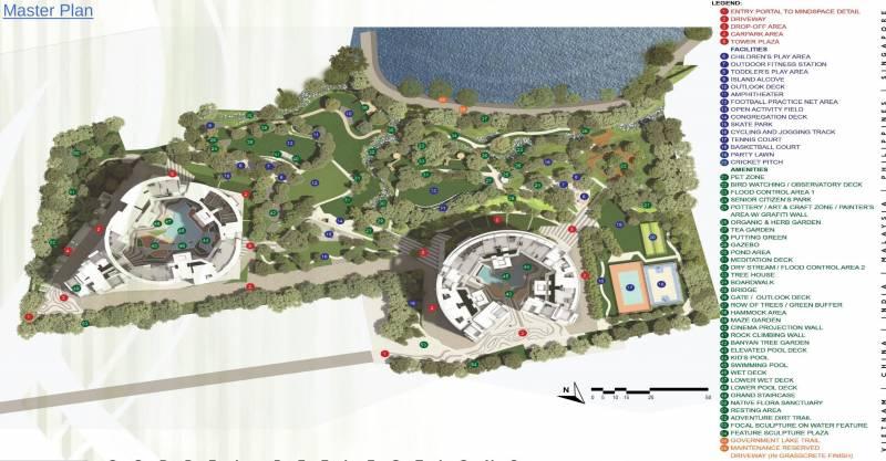 Images for Master Plan of Godrej Lake Gardens