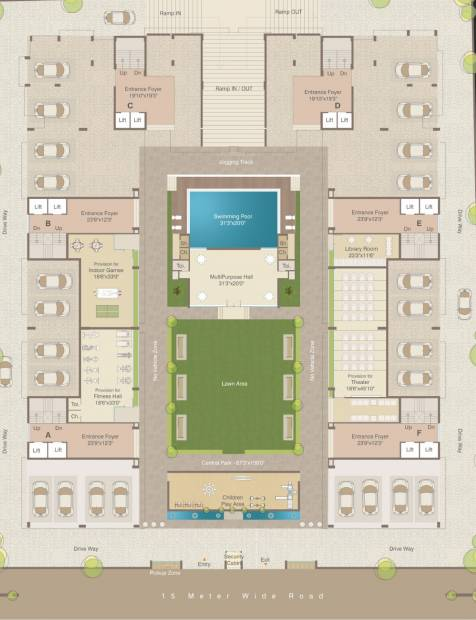 Images for Cluster Plan of Shreeji Two