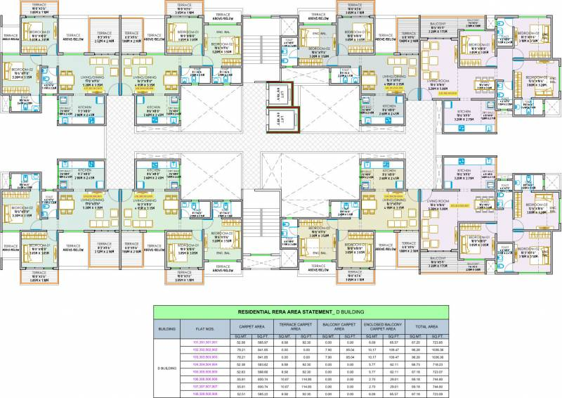 Images for Cluster Plan of Shree Sonigara Signature Park C And D Building
