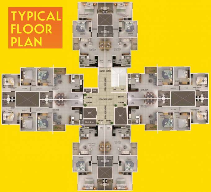 Images for Cluster Plan of Provident Equinox 1 4N 4P 4Q 4R
