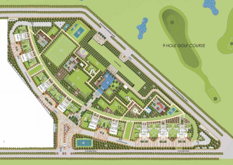 Images for Master Plan of Prateek Canary