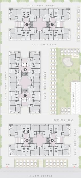 Images for Cluster Plan of Sadhna Sadhna Skywalk