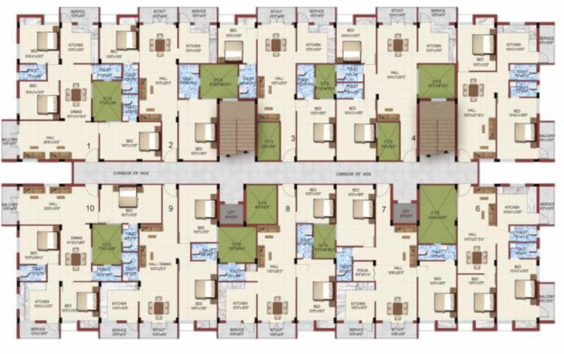Images for Cluster Plan of PATEESWARA DEVELOPERS Kurinji
