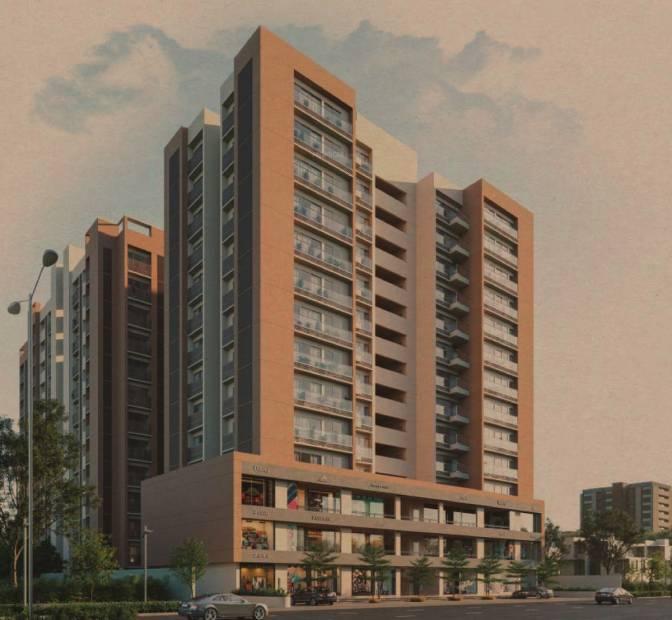 Images for Elevation of B Desai Apoorvam