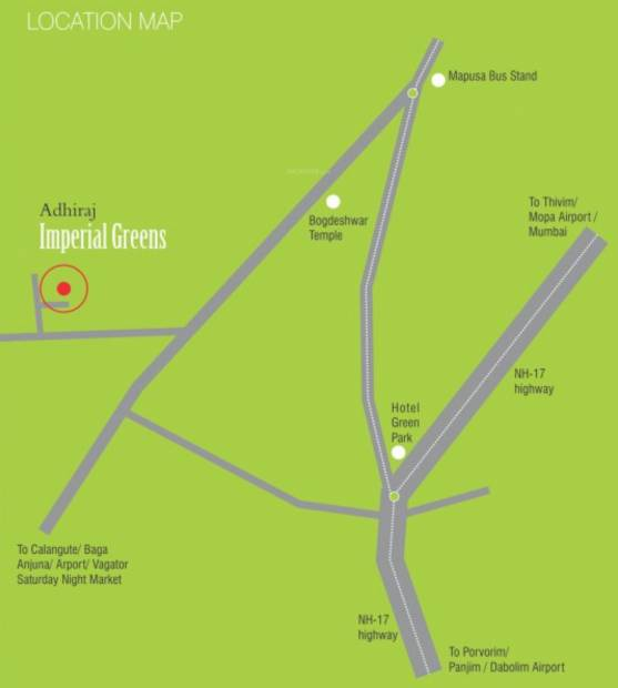 Images for Location Plan of P N Adhiraj Imperial Greens