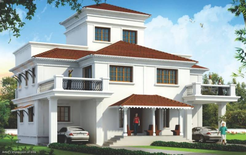 Images for Elevation of P N Adhiraj Imperial Greens