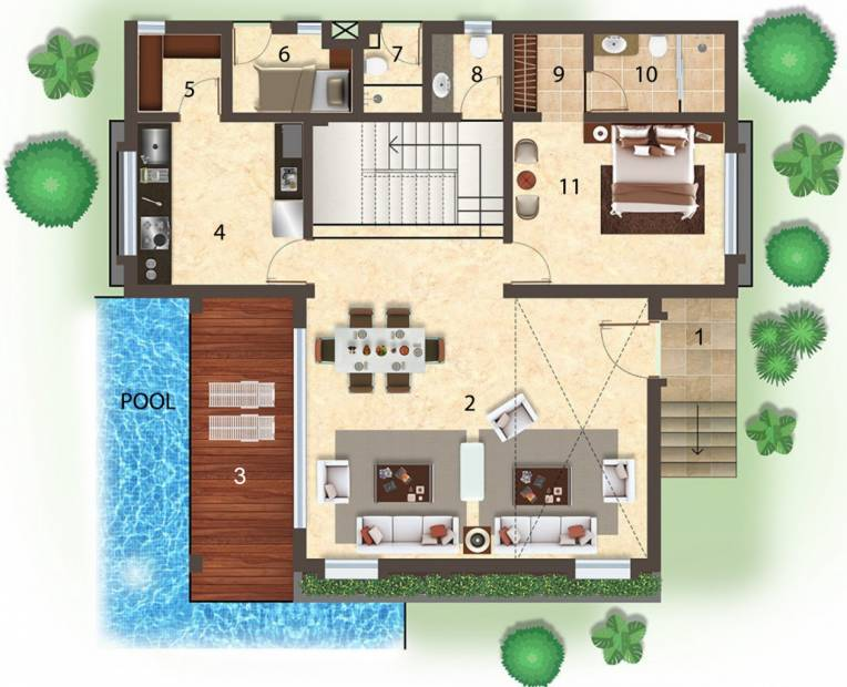 Images for Cluster Plan of Glimpse Villas