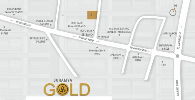 Images for Location Plan of Shubh Suramya Gold