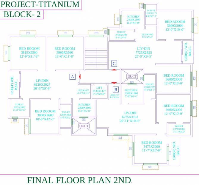 Images for Cluster Plan of Dharitri Titanium