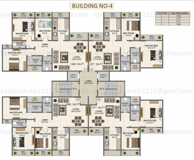 Images for Cluster Plan of Samuday Palacia I Greens