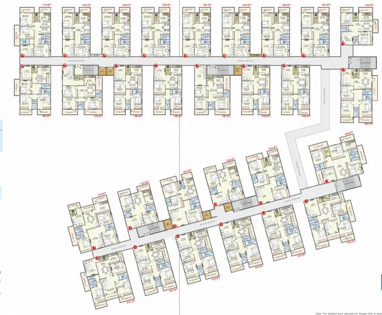 Images for Cluster Plan of Abhiram Nirman Touchstone Towers