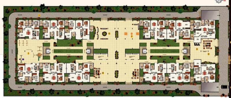 Images for Cluster Plan of VSPL Vaishnavi Mandara