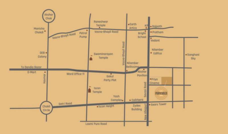 gold Location Plan