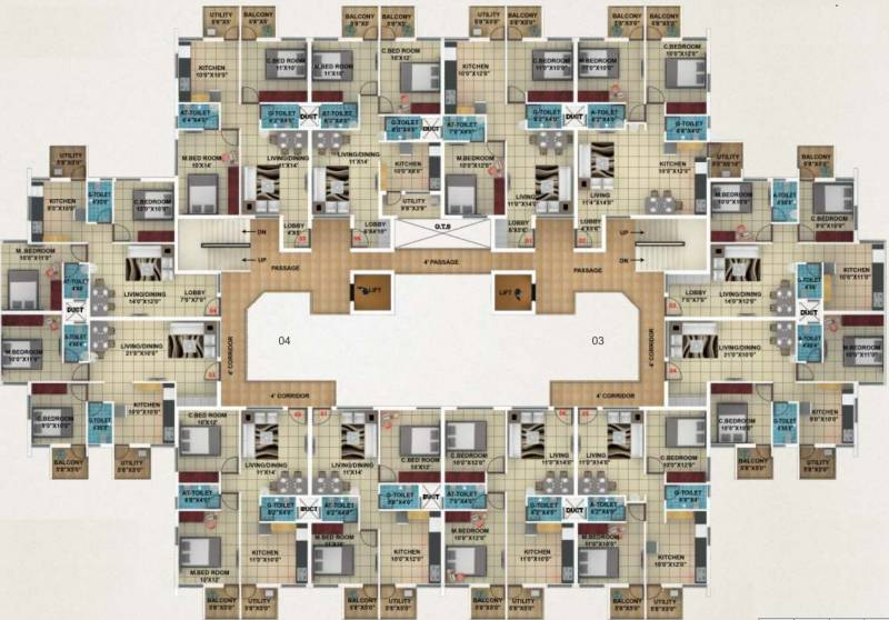 Images for Cluster Plan of Suresh Akshay Town