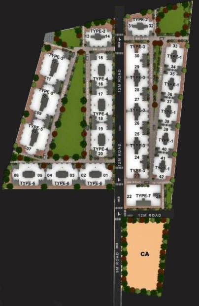 Images for Layout Plan of Suresh Akshay Town