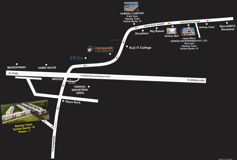 Images for Location Plan of Suresh Akshay Town