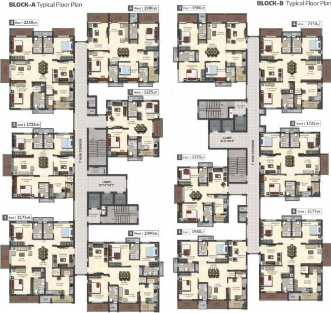 Images for Cluster Plan of Bricks Skywoods