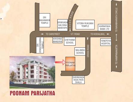poonam-parijath Location Plan