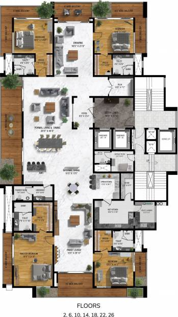 isle-of-sky Myscape Isle Of Sky 2nd, 6th, 10th, 14th, 18th, 22nd And 26th Cluster Plan